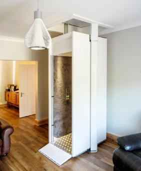 Stiltz, elevador discreto
