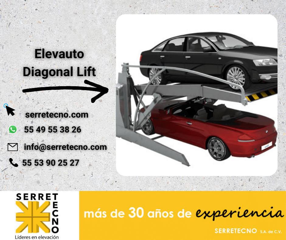 Diagonal lift en su estacionamiento